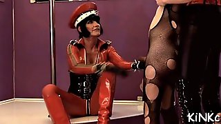 Slave Wrapped Up And Smothered