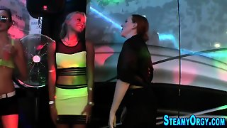 Party Teens Get Pounded
