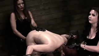 Mean And Sultry Bdsm Mistresses Mena Li And Brooklyn