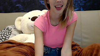 Young Skinny Blonde Webcam Show