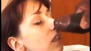 Mature Woman, Black Dude Anal Sex