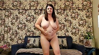 Abbey Chubby Boobs Strip Dance