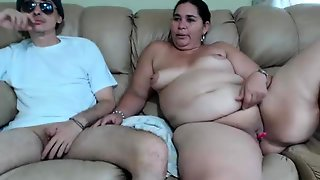 Mature Bbw And Young Man