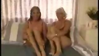 Lesbians Caught In Hot Action