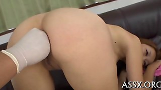 Asian Teen Shaved And Ass Fingered