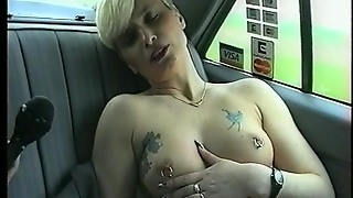 Pierced Nipples And Shaved Pussy