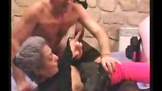 German Granny Anal Fucked And Fisted