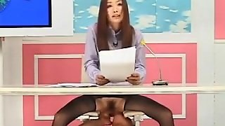 Japanese Announcer Getting Fucked
