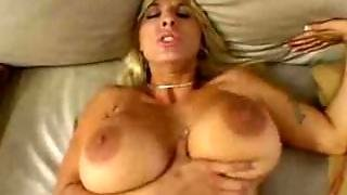 Ava's Massive Boobs, Mouth And Cunt