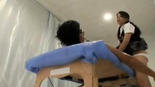 Japanese Schoolgirl Sexy Massage