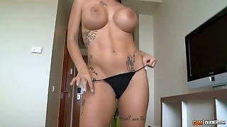 Sensational Boobs And Filthy Latina Milf Really Wants To Go With Them
