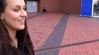 Public Sex, Outside, Teen, Outdoor Fuck, Sex Adventures, Public Nudity, Brunette, Public, Young, Naked In The Street, Publicsexadventures