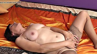 Granny Anal Sex Lover With Old Hairy Cunt