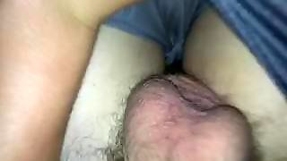 My Huge Cock Being Stroked