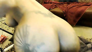 Ass Fuck, Dildo, Fake Huge Juggs, Masturbating, Piercing, Stocking, Big Boobs, Toy, Babe, Solo, Tattoo Body