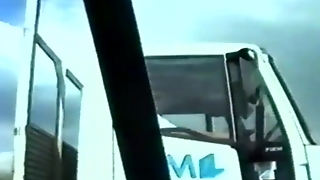 Teen Flashes To Passing Truckers