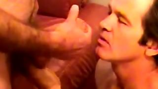 Mature Straight Dude Receives Facial