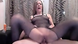 Anal Calze Velate, Teen In Pussy, Nailon Anale, Hardcore Amatoriale, Adolescente Calze