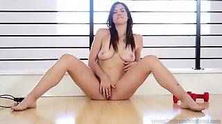 Sexy Teen Enjoys Solo Masturbation