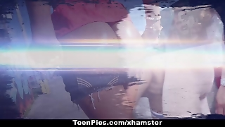 Teenpies - A Juicy Creampie For Charli Acacia's Teen Snatch