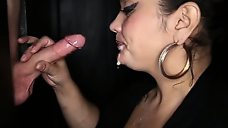 Gloryhole Secrets Bbw Katrina Giving Blowjobs To Strangers