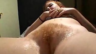 Redhead Pussy Upclose