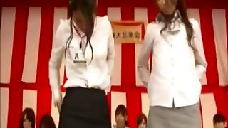 Oriental Game Show Has Weird Games For The Contestants To