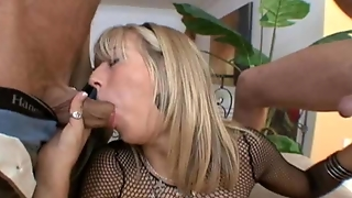 Chastity Lynn Chokes On Dick