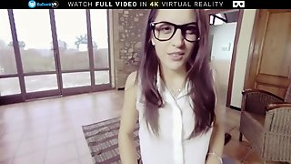 Badoink Vr Fuck Spex Teen Slut Carolina Abril Vr Porn