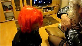 Tv Rubber Whore And Her Tv Mistress