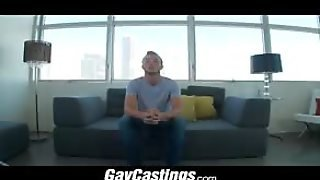Gaycastings Blue Eyed Guys Gets Stabbed By Casting Couch Cock