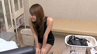 Beautiful Japanese Floozy Sucked And Fucked Her Gyno