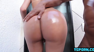 Brazil Shemale Anal Sex And Cumshot