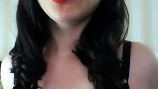 Amateur, Toys, Big Boobs, Stockings, Brunette, Masturbation, Solo, Webcam