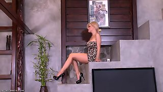 Hot Blonde Teen Solo