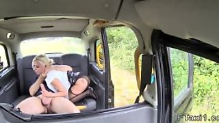 Fake Taxi Driver Bangs Deep Throat Blonde