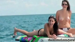 Perv Fishing For Outdoor Sex With Two Hotties