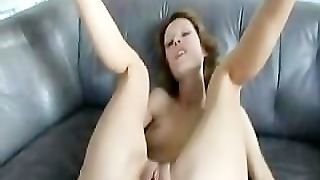 Skinny Amateur's Anal Experience