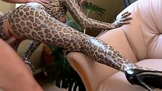 Cougar In Spandex