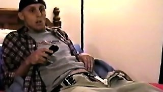 Horny Amateur Straight Guy Horny From Tv