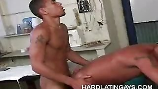 Horny Latino Gay Bottomed