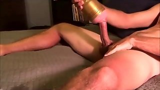 Jack Off And Edging With Fleshlight To Orgasm