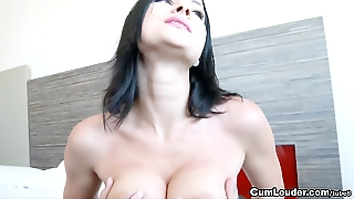 Abbie Cat Is Getting Fucked In The Ass Hard
