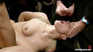 Suck, Publicdisgrace, Bdsm Double Penetration, Babe Fucked, Domination And Submission, Domination Group, Groupfucked, Blowjobgroup