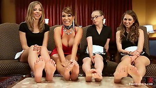 Blondes, Glasses, Party, Brunettes, Hd, Hardcore, Lesbian, Foot Fetish, Big Tits
