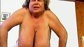 Old Mom Fucks Boner