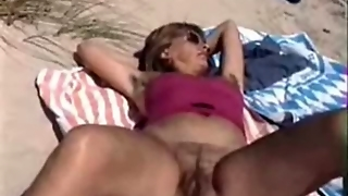 Hairy Amateur Milf Outdoors