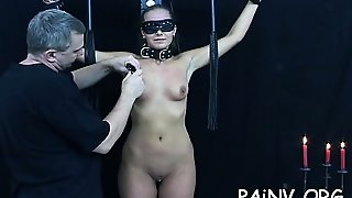 Bondage Act With A Boy Who Gets Tortured By Female-Dom