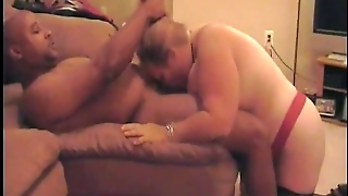 She Drinks His Cum And Licks His Ass