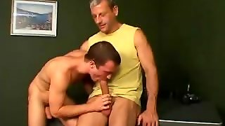 Athletic Twink Corbin Sucking A Monster Phallus With Lust